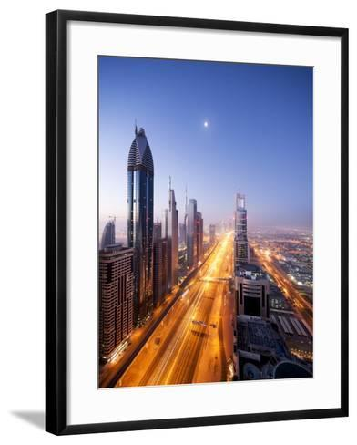 City Skyline, Dubai, UAE--Framed Art Print