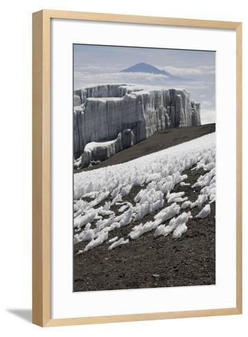 Glacier and Ice Patches--Framed Art Print