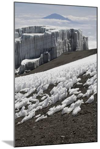 Glacier and Ice Patches--Mounted Photographic Print