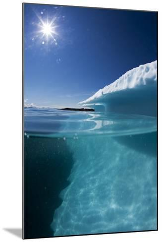 Iceberg in Disko Bay--Mounted Photographic Print