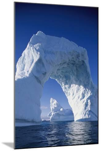 Arch Iceberg Near Lemaire Channel in Antarctica--Mounted Photographic Print