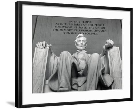 Lincoln-Daniel Chester French-Framed Art Print