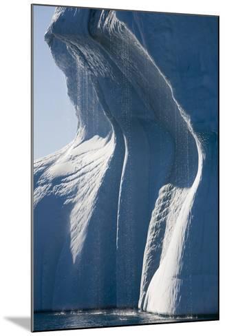 Melting Icebergs in Ililussat--Mounted Photographic Print