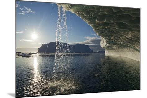 Melting Icebergs in Disko Bay--Mounted Photographic Print