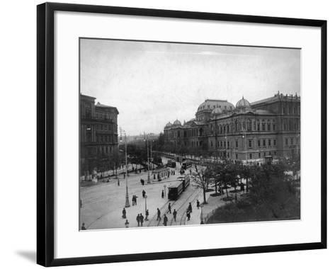 University in Vienna--Framed Art Print