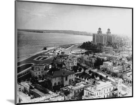 Aerial View of Havana--Mounted Photographic Print