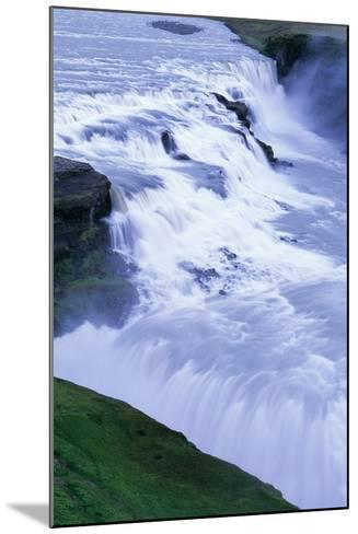 Gullfoss Waterfall in Iceland-Paul Souders-Mounted Photographic Print