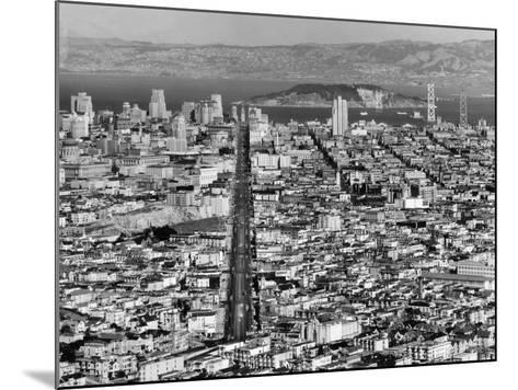 Aerial View of San Francisco--Mounted Photographic Print
