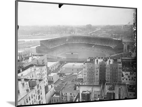Aerial View of Yankee Stadium--Mounted Photographic Print