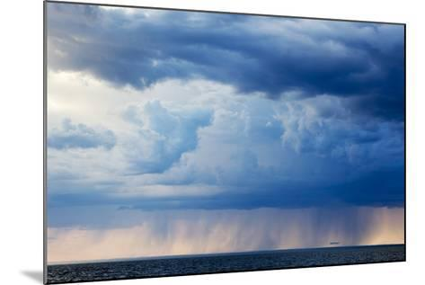 Storm Clouds, Hudson Bay, Canada-Paul Souders-Mounted Photographic Print