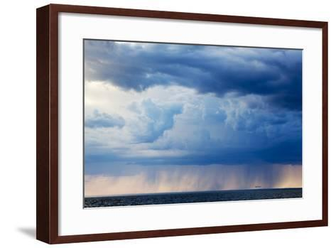 Storm Clouds, Hudson Bay, Canada-Paul Souders-Framed Art Print