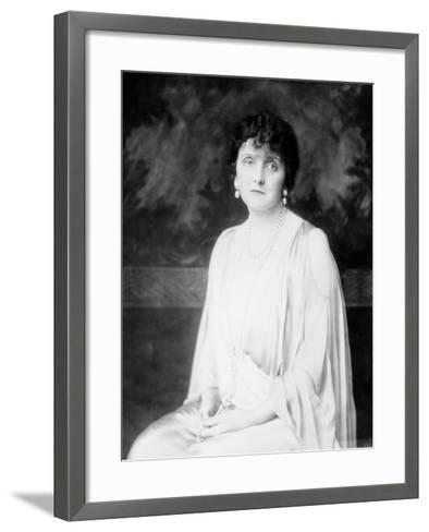 Author and Etiquette Expert Emily Post--Framed Art Print