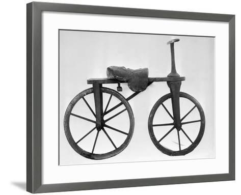 Early Bicycle--Framed Art Print