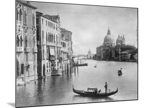 Grand Canal in Venice--Mounted Photographic Print