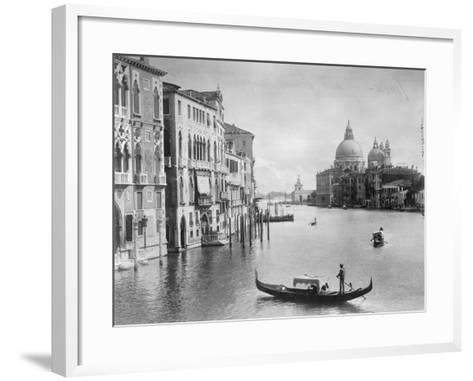 Grand Canal in Venice--Framed Art Print