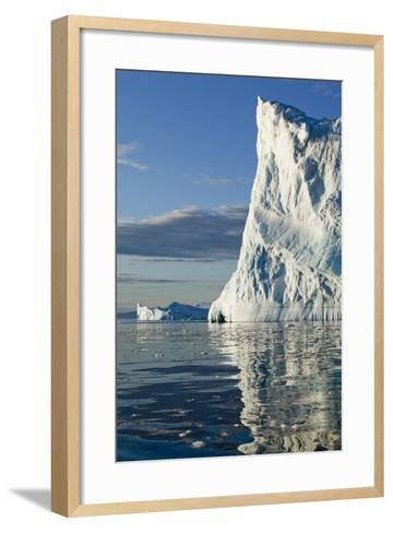 Icebergs in Disko Bay--Framed Art Print