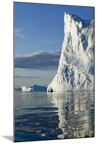 Icebergs in Disko Bay--Mounted Photographic Print