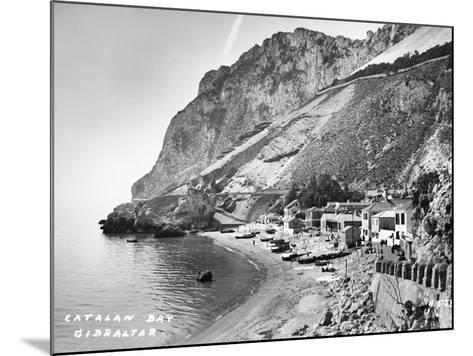 Catalan Bay--Mounted Photographic Print