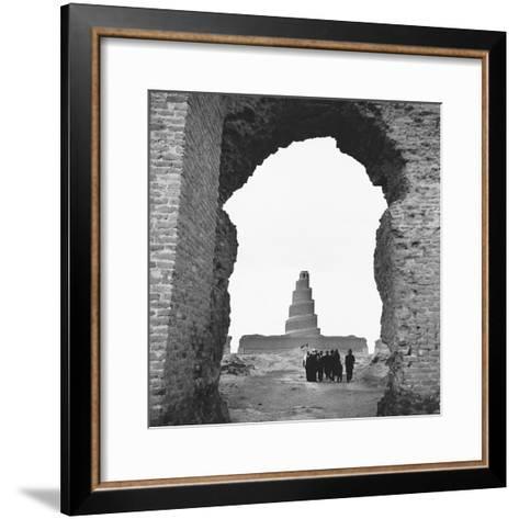 Replica Tower of Babel--Framed Art Print