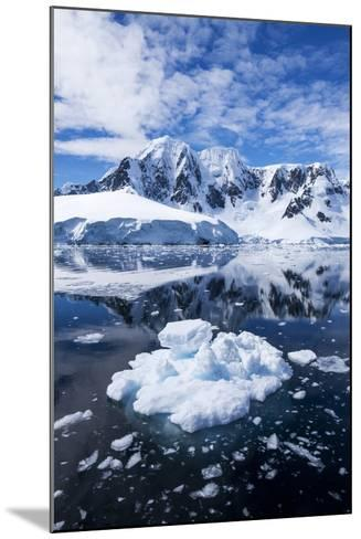 Mountain Peaks, Lemaire Channel, Antarctica--Mounted Photographic Print
