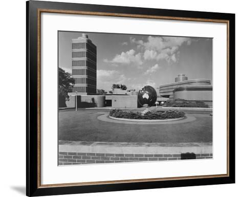 Johnson Wax Building-Frank Lloyd Wright-Framed Art Print