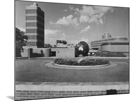 Johnson Wax Building-Frank Lloyd Wright-Mounted Photographic Print