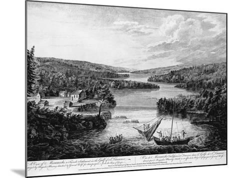 Miramichi Settlement on the Gulf of Saint Lawrence-Paul Sanby-Mounted Photographic Print