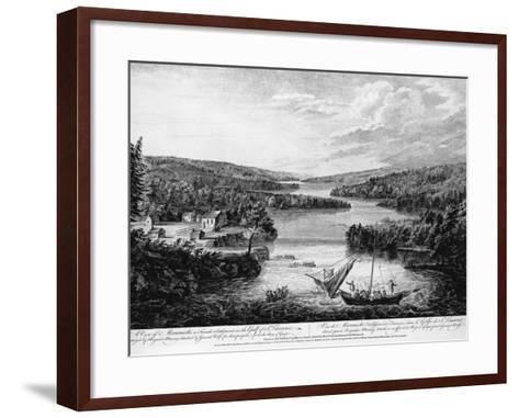 Miramichi Settlement on the Gulf of Saint Lawrence-Paul Sanby-Framed Art Print