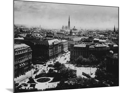 View of Vienna--Mounted Photographic Print
