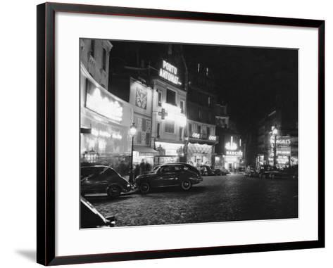 Place Pigalle--Framed Art Print