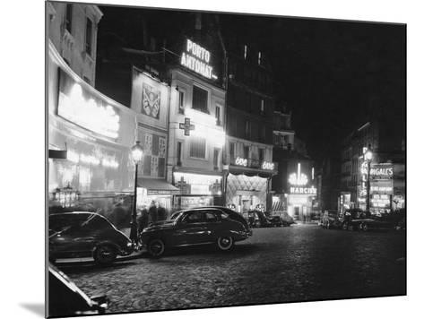 Place Pigalle--Mounted Photographic Print