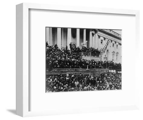 Second Inauguration of President Lincoln--Framed Art Print