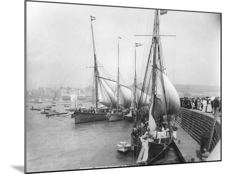 Sailing Yachts at Ramsgate--Mounted Photographic Print