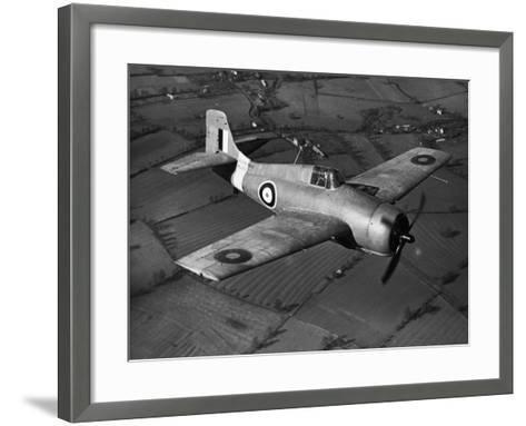 Grumman Martlet 1--Framed Art Print