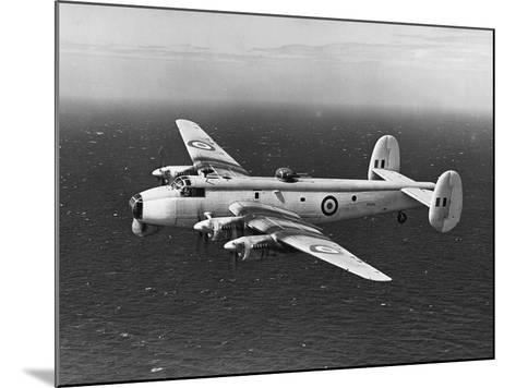 Avro Shackleton Patrolling Coastal Waters--Mounted Photographic Print