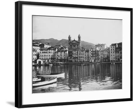 Waterfront--Framed Art Print