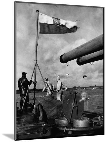 Polish Ships with British Fleet--Mounted Photographic Print