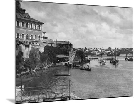 Mombasa Harbor--Mounted Photographic Print