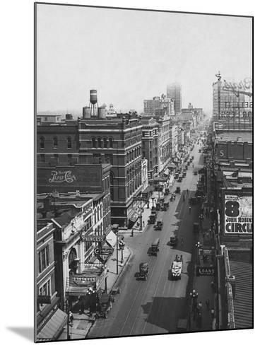 Main Street--Mounted Photographic Print