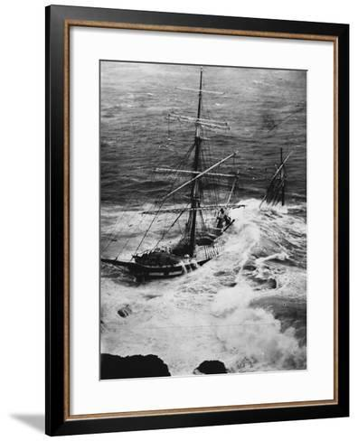 Shipwreck of the Cromdale--Framed Art Print