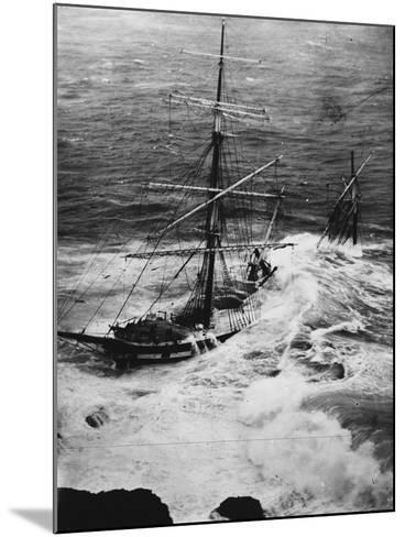 Shipwreck of the Cromdale--Mounted Photographic Print