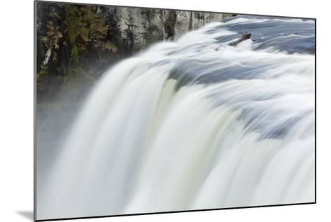 Upper Mesa Falls, Targhee National Forest-Paul Souders-Mounted Photographic Print
