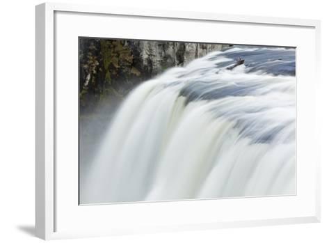 Upper Mesa Falls, Targhee National Forest-Paul Souders-Framed Art Print
