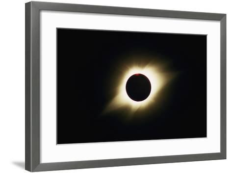 Solar Corona During Total Eclipse-Roger Ressmeyer-Framed Art Print
