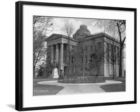 North Carolina State Capitol-E. F. Pescud-Framed Art Print