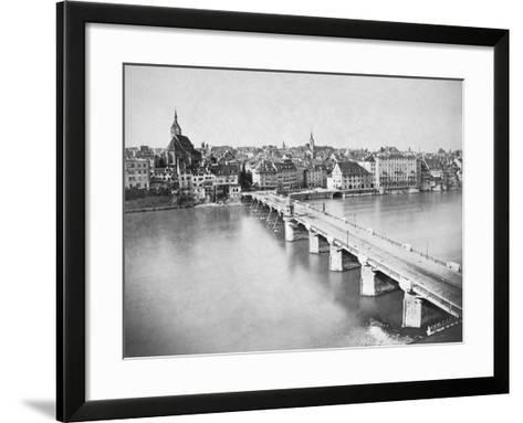 A View of Basel--Framed Art Print