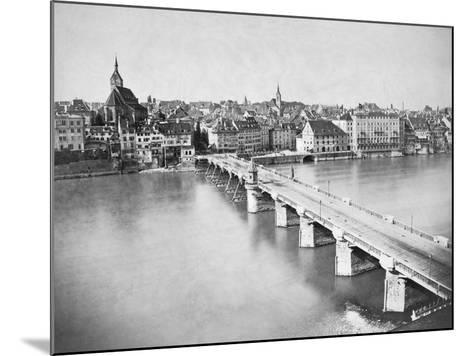 A View of Basel--Mounted Photographic Print
