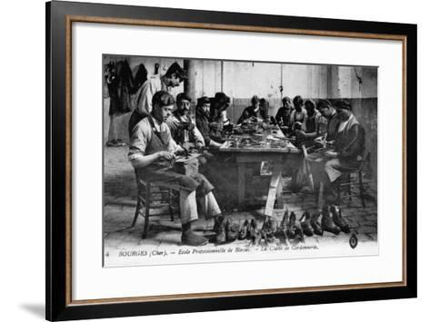 Cobbling Class--Framed Art Print