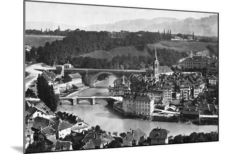 A View of Bern--Mounted Photographic Print