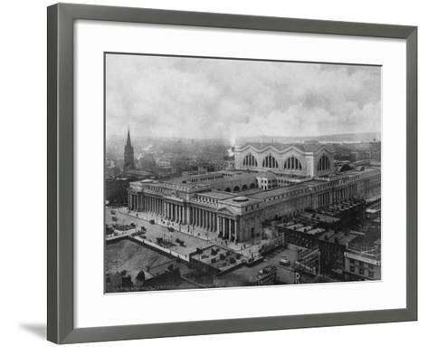 Pennsylvania Station--Framed Art Print